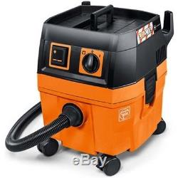 FEIN Dustex 25L Wet & Dry Dust Extractor 110v Vacuum Cleaner M Class Filter