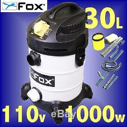 FOX F50-800 110v Wet or Dry Vacuum Cleaner / Dust Extractor extraction 3Yr Gtee