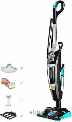Fivefine Multi-Function 2 in 1 Steam Mop Cleaner, Wet & Dry Vacuum Cleaner
