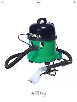 George Carpet Cleaner Vacuum GVE370 Numatic 4 in 1 Vacuum Dry & Wet Use BNIB