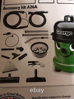 George Numatic Carpet Cleaner Vacuum Hoover GVE370 Dry Wet Complete Cleaning Set