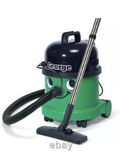 George Numatic GVE370 Bagged Wet/Dry Vacuum Cleaner Green