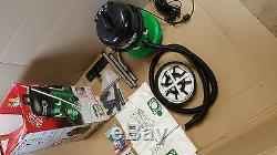 George Wet and Dry Cylinder Vacuum Cleaner Green