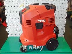 HILTI VC 40-U 110v 36L WET & DRY VACUUM CLEANER / DUST EXTRACTOR c/w 110v SOCKET