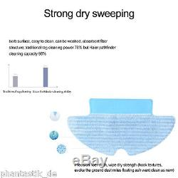 Haier Smart Vacuum Robot Cleaner Auto Floor Dust Wet Dry Mop Cleaning Sweeper UK