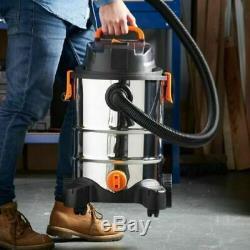 Heavy Duty Wet And Dry Vacuum Cleaner Vac Floor Bagless Powerful Blowing Debris