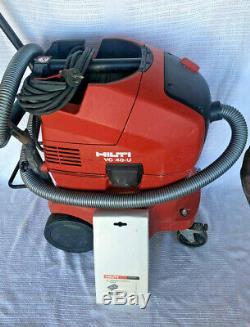 Hilti VC40-U Industrial Wet Dry Vacuum Cleaner. New Main Filter + Spare VC40U