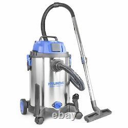 Hyundai HYBI3014 1400w 3-in-1 Industrial Wet & Dry Vacuum Cleaner 240v