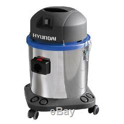 Hyundai Industrial 1400w 35L Wet and Dry Vacuum Cleaner, Car Valet