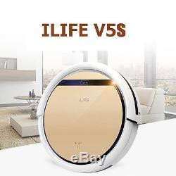 ILIFE V5S PRO Robotic Vacuum Cleaner Cordless Dry Wet Sweeping 0.3L EU PLUG HOT