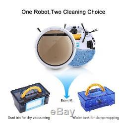 ILIFE V5S Pro Cordless Smart Robotic Vacuum Cleaner Dry Wet Auto Clean Machine