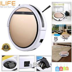 ILIFE V5S Pro Intelligent Robotic Vacuum Cleaner Dry Wet Sweeping Gold Clean