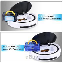 ILIFE V5S Pro Smart Robotic Vacuum Cleaner Dry Wet Floor Cleaner Sweeper Machine