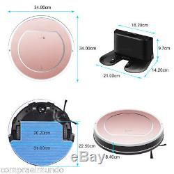 ILIFE V7S Pro Smart Robotic Vacuum Cleaner Wet&Dry Extra Large Mop Floor Sweeper