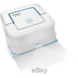 IRobot Braava Jet 240 Mopping Robot Floor Cleaner Cordless Wet Damp Dry White