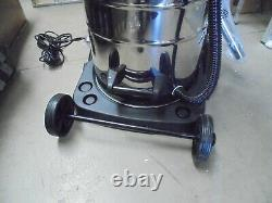 Industrial Vacuum Cleaner Wet & Dry Vac Extra Powerful Stainless Steel 80L A5102