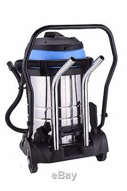Industrial Wet And Dry M RATED Vacuum Cleaner 60L Stainless Steel 2400W