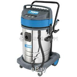 Industrial Wet And Dry Vacuum Cleaner 80l 230v With Accessories Fervi A040/803