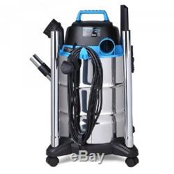 Industrial Wet and Dry Vacuum Cleaner 1500W Vacmaster Power 30 PTO VQ1530SFDC
