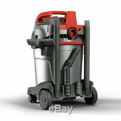 Industrial wet and dry vacuum cleaner with high speed blower