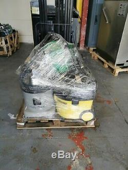 Job lot of wet & dry vacuum cleaners. Numatic & Karcher. 110v & 240v