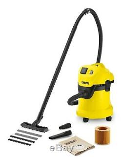 KARCHER MV3P Multi purpose WET and DRY VACUUM CLEANER With power tool socket