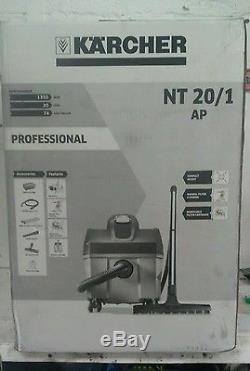 Karcher Nt 20/1 Ap Professional Wet And Dry Vacuum Cleaner, Bnib