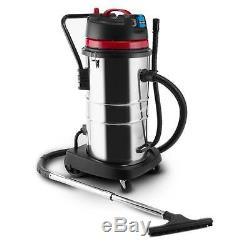 Klarstein 60l Wet-dry Powerful Industrial Vacuum Cleaner 2000w Heavy Duty Vacuum