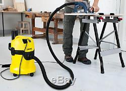 Kärcher WD3P Wet & Dry Vacuum Cleaner 1000W, 17LTR, 240V Multi-Purpose Tough Vac
