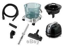 Kalorik Bagless Wet and Dry Water Filter Vacuum Cleaner, 4.5 Litre, 1200 W