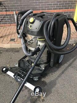 Karcher IVC 60/12-1 Tact EC 240v Wet & Dry Vacuum Cleaner. Ideal Car Wash Vac
