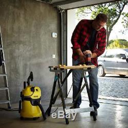 Karcher Vacuum Cleaner Dry Wet Vac Car Kit All Floors Carpets Cartridge Filter