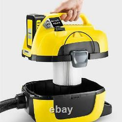Karcher WD1 Cordless Wet & Dry Vacuum Cleaner + battery