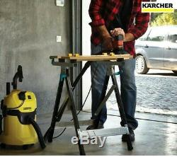 Karcher WD3 P Wet & Dry Vacuum Cleaner with Power Tool Take-Off 1000w 240v OFFER