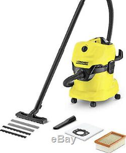 Karcher WD4 Multi Purpose Vacuum Cleaner Wet and Dry