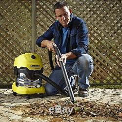 Karcher WD4 Premium Tough Vac, Wet and Dry Vaccum Cleaner