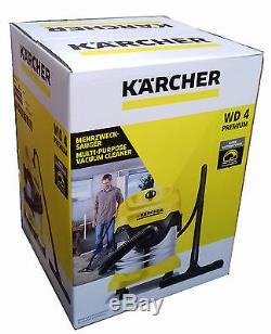 Karcher WD4 Premium Vac Wet and Dry Vaccum Cleaner WD 4 Brand New