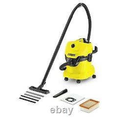 Karcher WD4 Wet & Dry Vacuum Cleaner