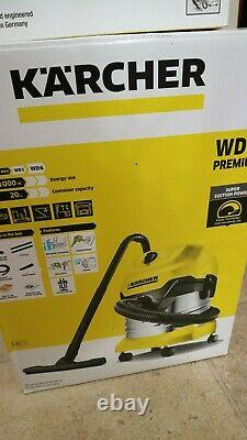 Karcher WD4 wet & dry vacuum cleaner with Ash bin