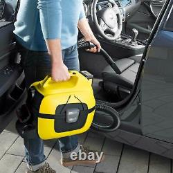 Karcher WD 1 18v Cordless Wet and Dry Vacuum Cleaner 1 x 2.5ah Li-ion