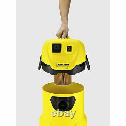 Karcher WD 3 P Wet and Dry Vacuum Cleaner 240v