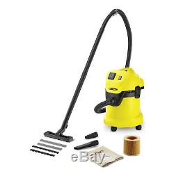 Karcher Wd3 Wet & Dry Home And Workshop Site Vacuum Cleaner Hoover 2yr Warranty
