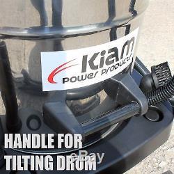 Kiam Gutter Cleaning System KV100 Wet & Dry Vacuum Cleaner & 36ft 10.8m Pole Kit