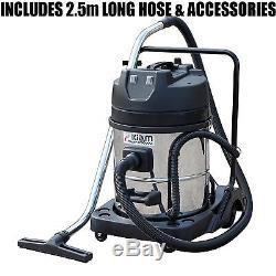 Kiam Gutter Cleaning System KV60 Wet & Dry Vacuum Cleaner & 40ft 12m Pole Kit