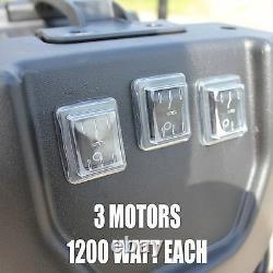 Kiam KV100 100L GUTTER VAC 3 Motor 3600W Vacuum Cleaner Industrial Hoover