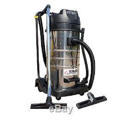 Kiam KV100-3 100 Litre Industrial Triple Motor 3600W Wet & Dry Vacuum Cleaner