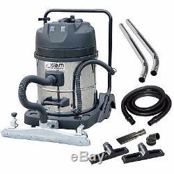 Kiam KV60-2 60L 2400W Wet Dry Warehouse Workshop Vacuum Cleaner Floor Squeegee