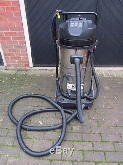 Kiam Vacuum Cleaner KV100-3 3600W Industrial Wet & Dry with Gutter Pole Kit