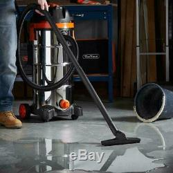 Large Wet And Dry Vacuum Cleaner Heavy Duty Powerful Shop Vac Bagless Industrial