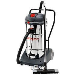Lavor Windy 365IR 65L Triple Motor Wet & Dry Vacuum Cleaner Hoover 3000W